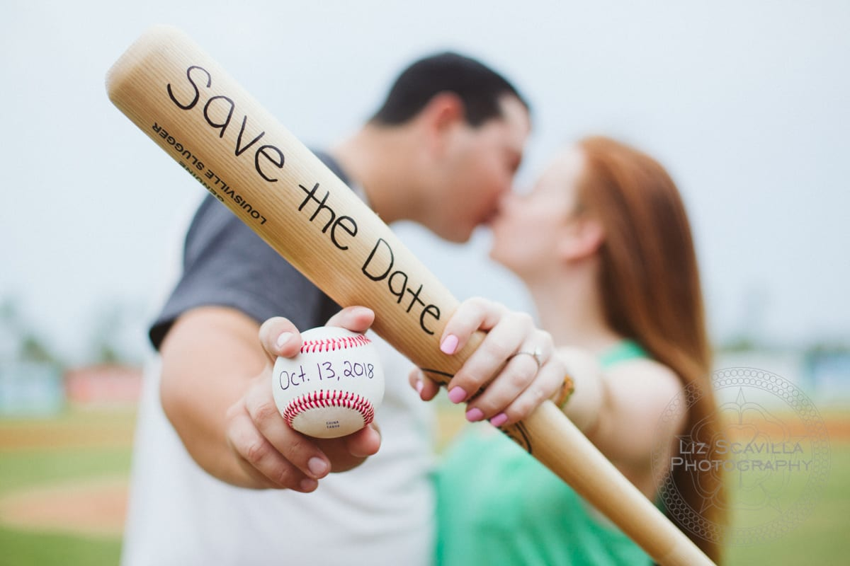 Love and Baseball: Cyndal & Nick's Daytona Engagement Session