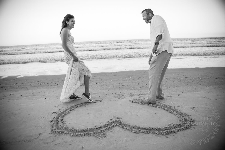 Carrie Eric New Smyrna Beach Wedding 1