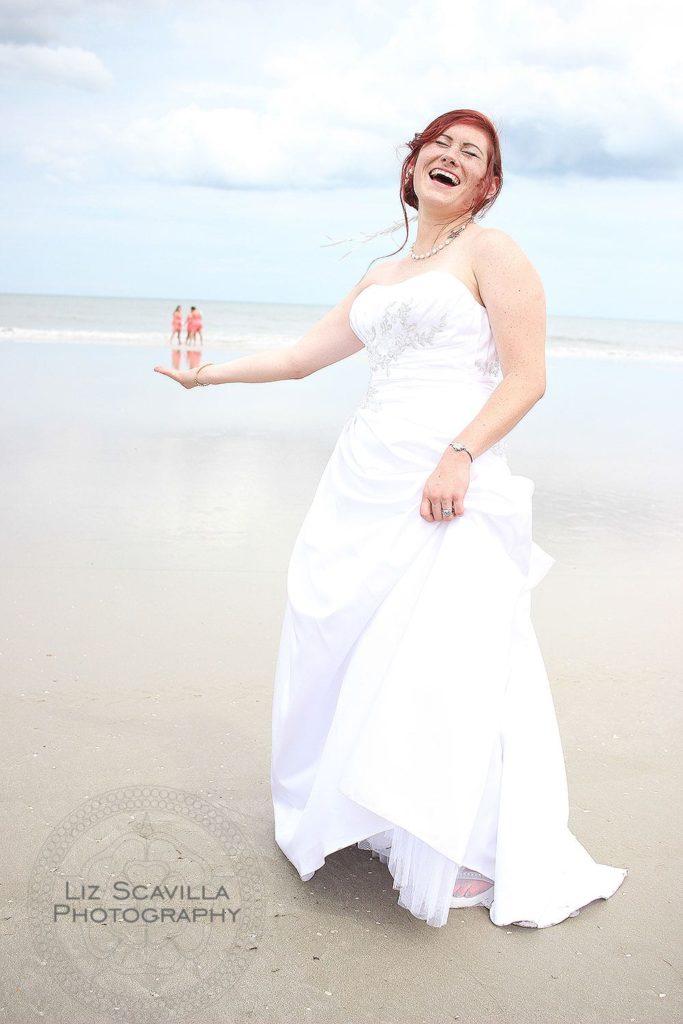 Bride with Tiny Bridesmaids