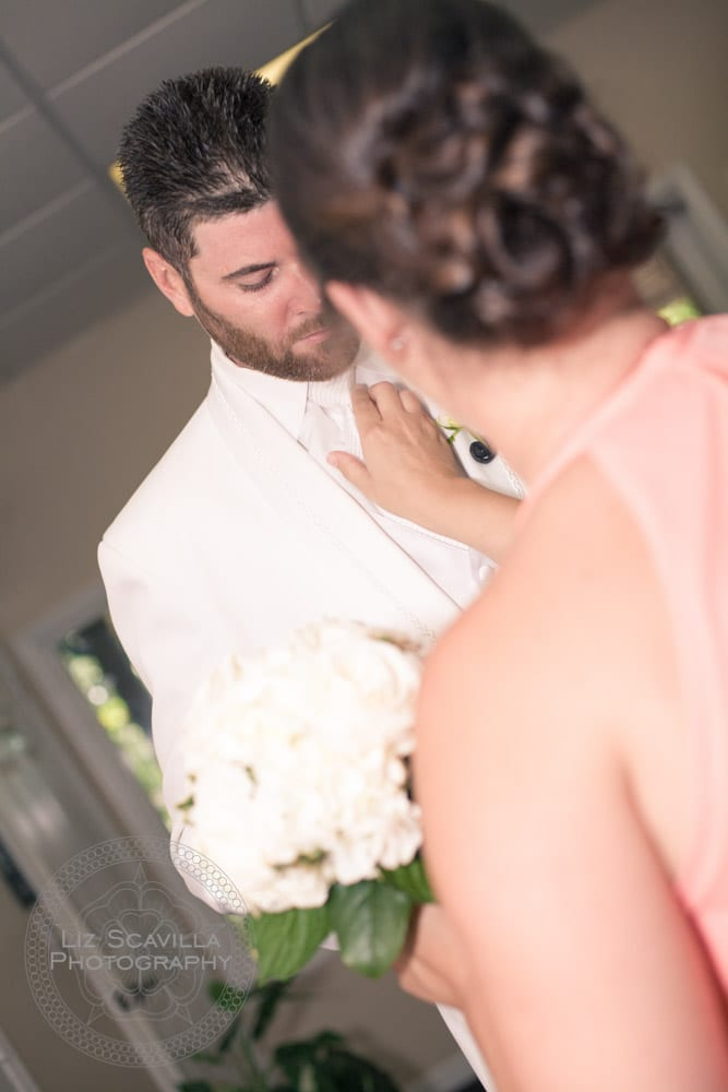 Fixing Groom's Tie