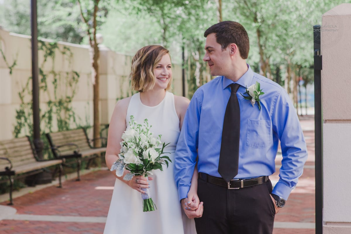 Bryon & Deirdre's Deland Courthouse Wedding